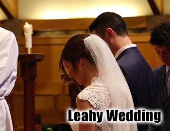 Leahy Wedding