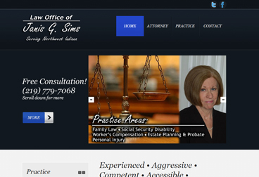 Law Office of Janis G. Sims; http://www.janissimslaw.com