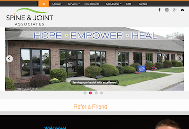 Spine and Joint Associates, wwww.spineandjointassociates.com