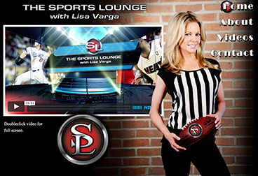 The Sports Lounge with Lisa Varga; http://www.sportsloungetv.com/